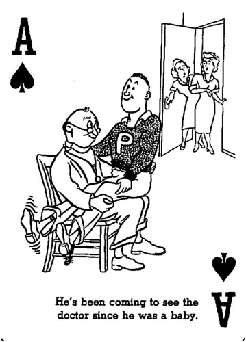 Cheer-Up Playing Card