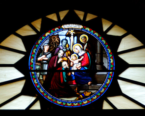 Stained glass in Bethlehem Church
