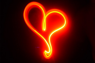 Corazón Neón