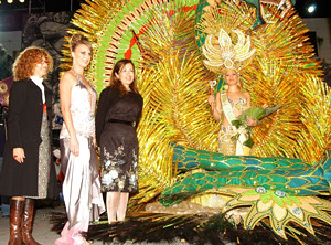 Carnaval Queen 2008 (provided by Ayuntamiento de Puerto de la Cruz