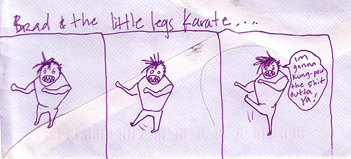 little leg karate