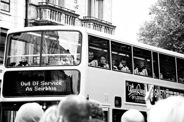 The Royal Visit 2011: Gardaí get to Ride the Special Bus