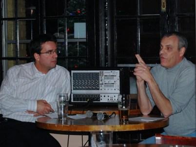 Richard Binhammer and Ian Ketcheson at Third Tuesday Ottawa