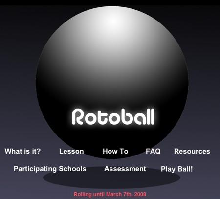 Rotoball Homepage