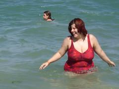 melissa and Amanda in the ocean