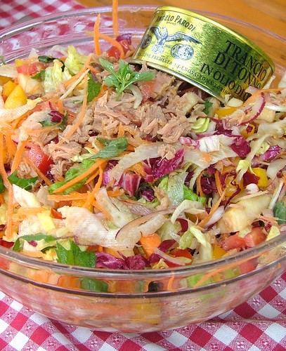 tuna salad - insalata di tonno (tin can recipes)