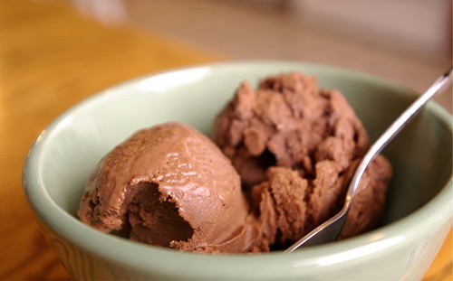 bittersweet chocolate ice cream