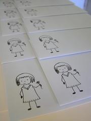 finished envelopes