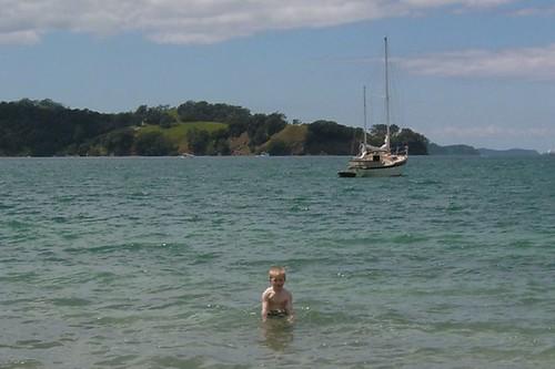 Connor at Sullivans Bay