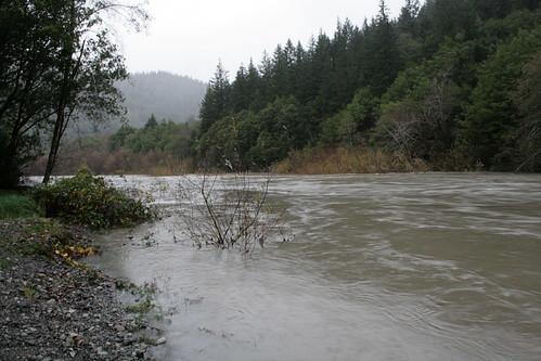 Elk River flood stage