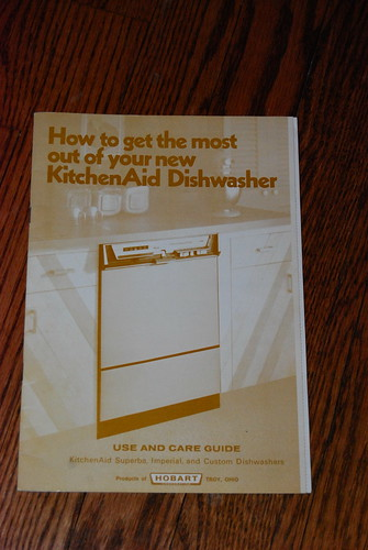 Dear 1970's KitchenAid dishwasher…what took you so long? – Midwestkids