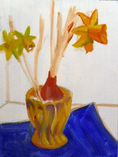 Daffodils 2 - step 2