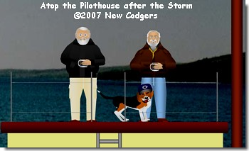 Atop the Pilothouse after the Storm ©2007 New Codgers