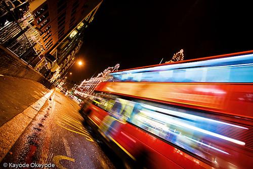 Speeding Bus (and Harrods)