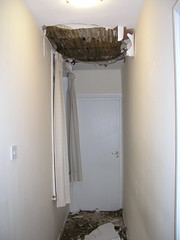 Collapsed ceiling 4