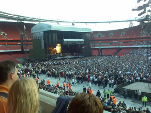 Londres, Emirates Stadium primera noche