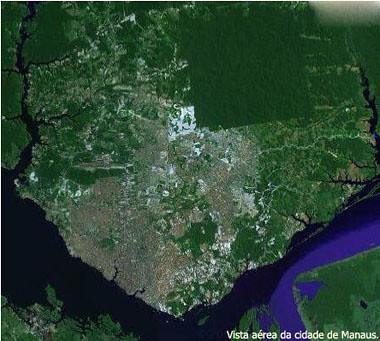 Vista aérea de Manaus