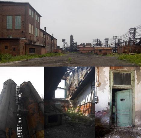 Industria de acero en lacawana