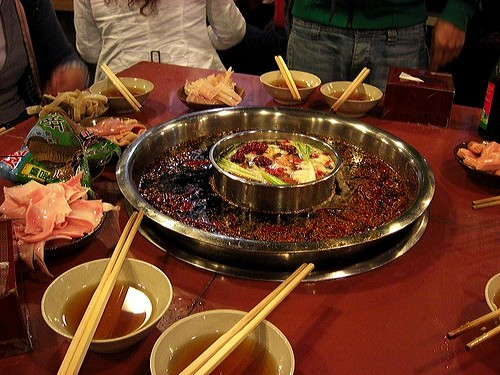 Hotpot - table spread