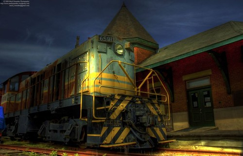 Smiths Falls Trainyard and Museum