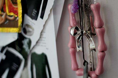 Saturday: new necklaces. Penny Foggo and Dolomite.