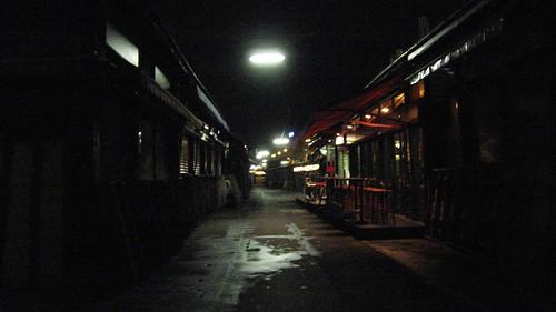 Naschmarkt at night