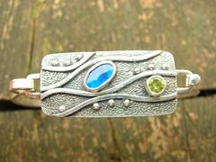 Opal & Peridot Bracelet