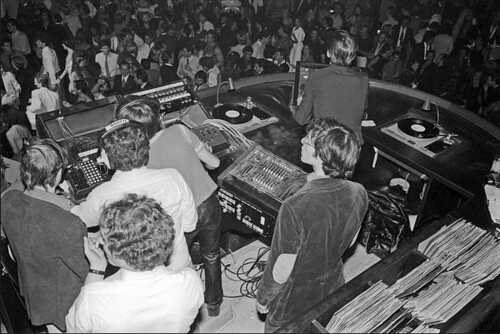 Studio 54 DJ Booth