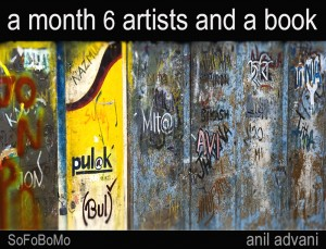 a month 6 artists and a book