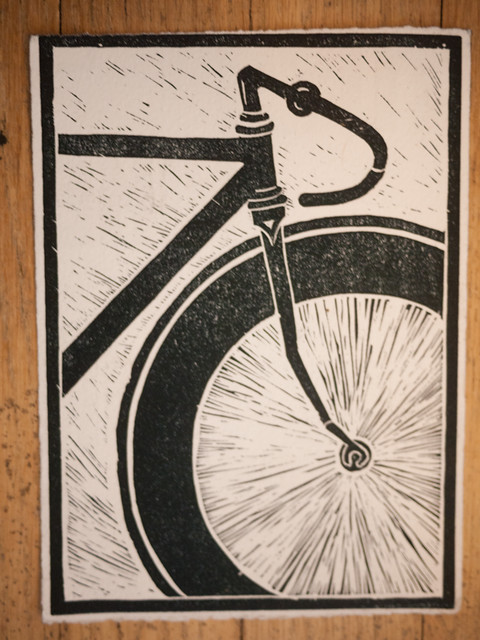 tues night ride print