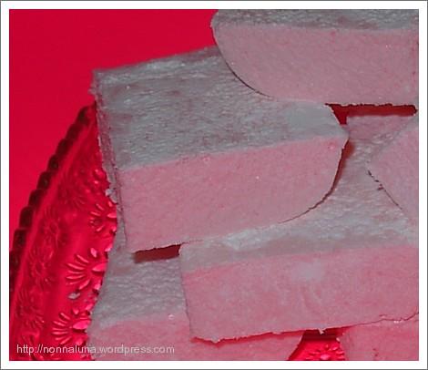 raspberry marshmallows