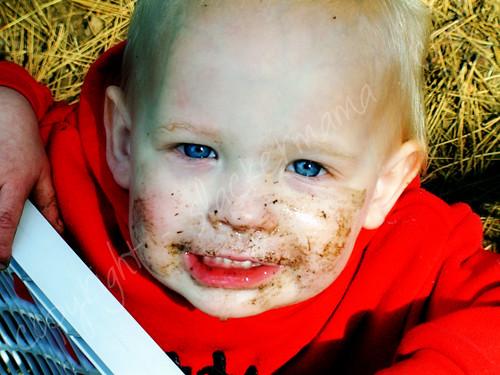 Dirt Faced Cutie
