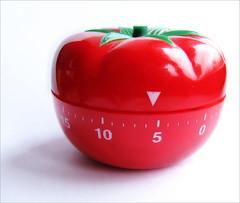 Típico Timer de Cozinha em forma de Tomate - Inspiração da Técnica