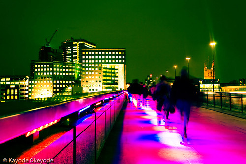 Switched On - London Bridge at Night (2)