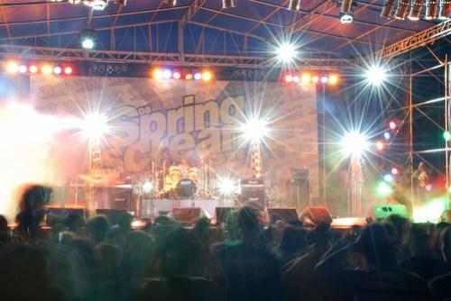 閃閃發光的主舞台