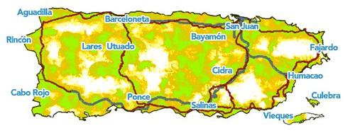 Cobertura 3G Claro Puerto Rico