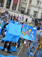 """Expedia """"blue sky"""" painting contest"""