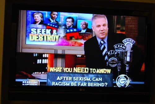 Seek & Destroy on Glen Beck CNN Headline News