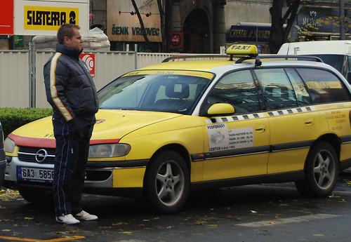 Prague Taxi Lyndsey Matthews