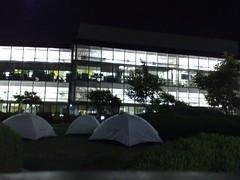 Google Tents at Where Camp