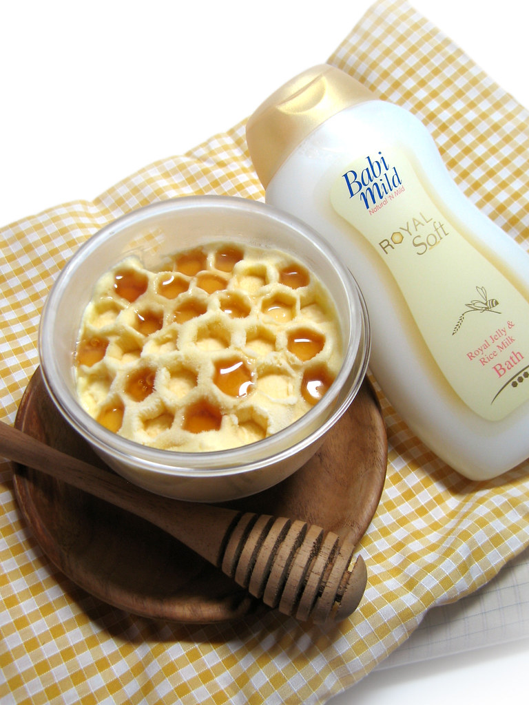 Royal Jelly ice cream for Babi Mild