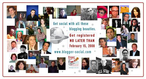 Blogger Socialites 2008
