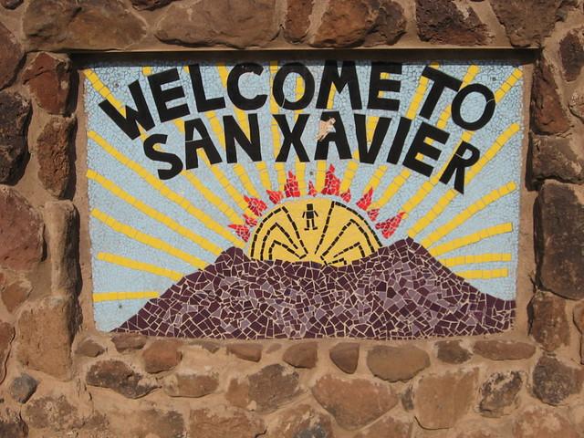 san xavier welcome