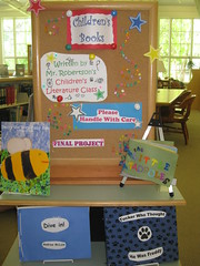 Mr. Robertson's final projects in Children's L...