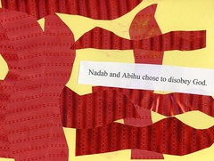 Nadab and Abihu - Preschool craft