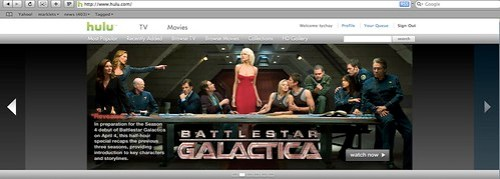 Battlestar Galactica Last Supper (2008) via hulu