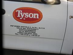Tyson Foods México Truck