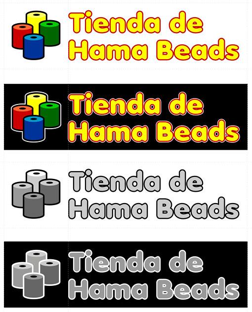 Logotipo - La Tienda de Hama Beads - pablouria.com