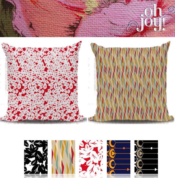 Freddy & Ma {new} Custom Pillows + Melamine Plates