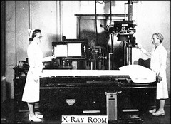 X-ray room in the Elliot Community Hospital